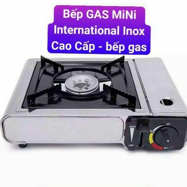 Bếp gas mini inox International