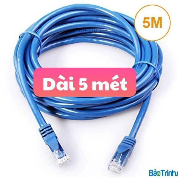 Cáp mạng bấm đầu sẵn dài 5m mét