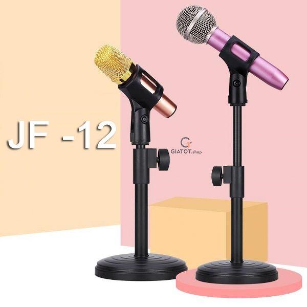 Giá đỡ micro thu âm mini có đế để bàn JF-12 livestream