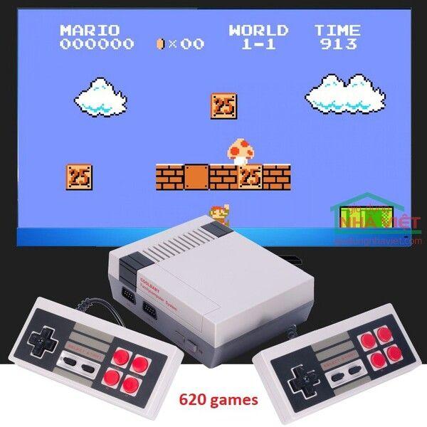 Máy chơi điện tử 4 nút Nintendo 620 trò chơi Family Computer