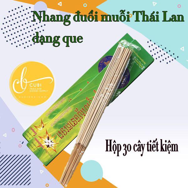 Nhang muỗi Thái Lan hộp 30 cây