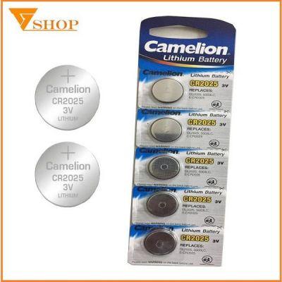 5 viên pin cr2025 Camelion Lithium 3V