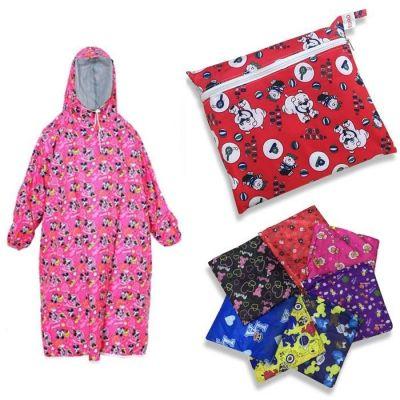 Áo mưa trẻ em bít 2 bên size 8 ( họa tiết ngẫu nhiên)