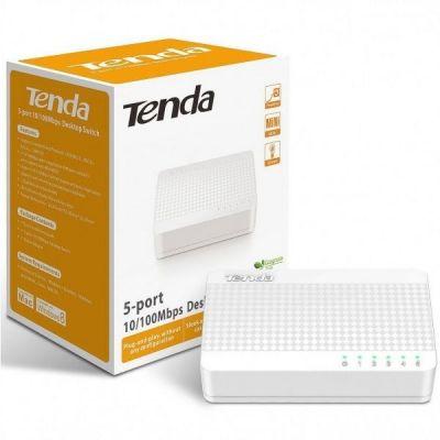Bộ chia mạng 5 cổng Switch Tenda 5 Port S105