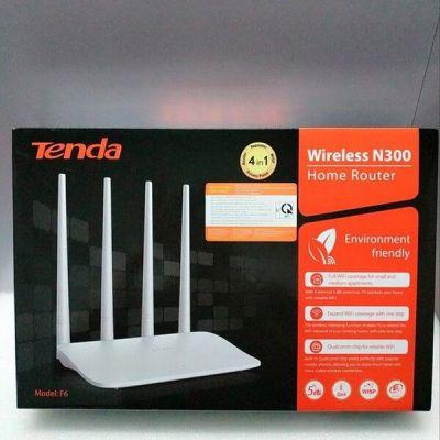Bộ Phát Wifi Tenda 4 Râu F6 Chuẩn 300Mbps