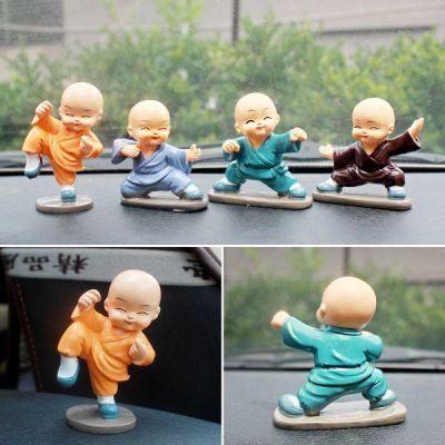 Bộ tượng 4 chú tiểu múa võ - múa quyền