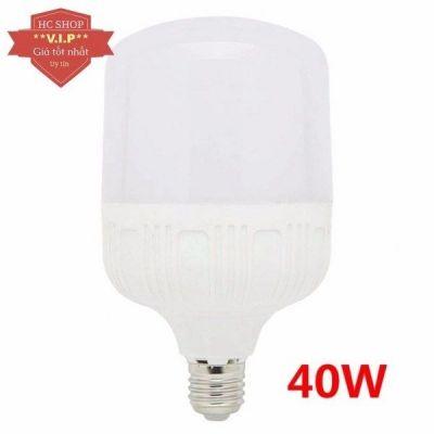 Bóng Đèn LED bulb 40W E27 công suất lớn(Ánh sáng trắng)