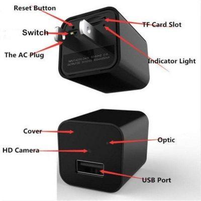 Camera ngụy trang cốc sạc USB