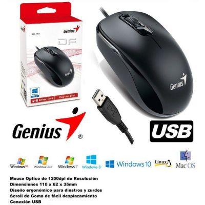 Chuột Có Dây Genius DX-110 USB