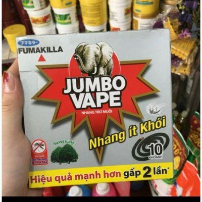 Combo 10 hộp nhang trừ muỗi Jumbo Vape ít khói