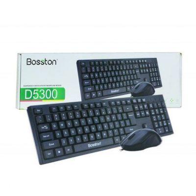 COMBO PHÍM CHUỘT BOSSTON D5300