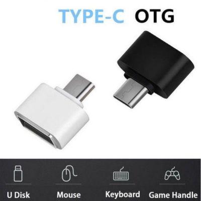 Đầu chuyển USB OTG -Type -C cho máy tính bảng và smart phone