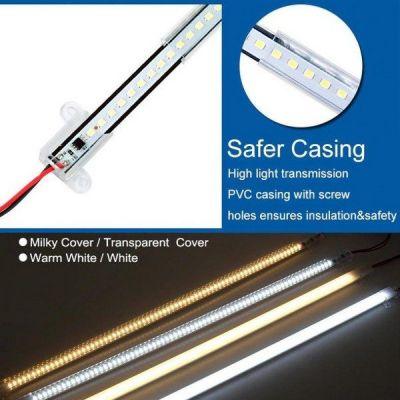Đèn LED dạng thanh AC 220v 1mét 6w trang trí cao cấp TL-TB01