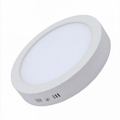 Đèn LED ốp trần nổi 12w TRÒN (ánh sáng trắng)