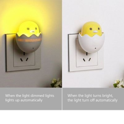 Đèn ngủ cảm ứng hình quả trứng