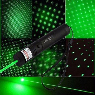 Đèn Pin Tia Laser 303 Tia Xanh