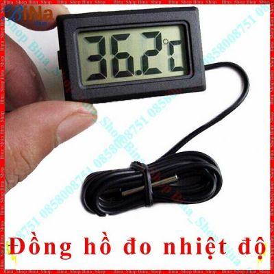 Đồng hồ đo nhiệt độ cảm biến dài 1 mét
