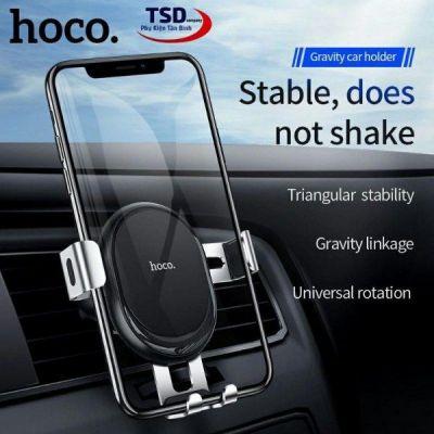Giá đỡ điện thoại Hoco CA56 chính hãng gắn cửa điều hòa