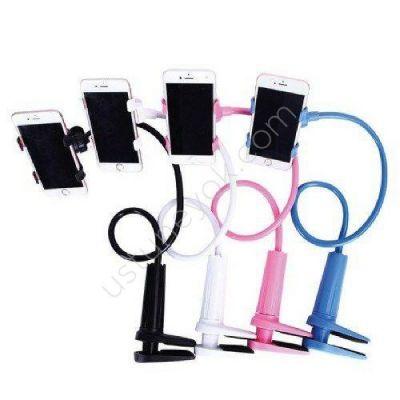 Giá đỡ kẹp điện thoại đuôi khỉ đa năng (chân kẹp siêu chắc) mẫu mới 2020