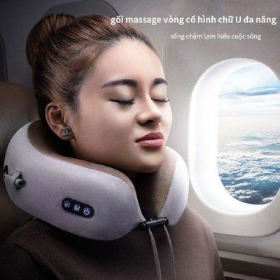 Gối massage vòng cổ chữ U đa Năng - Home and Garden - goi massage chu U