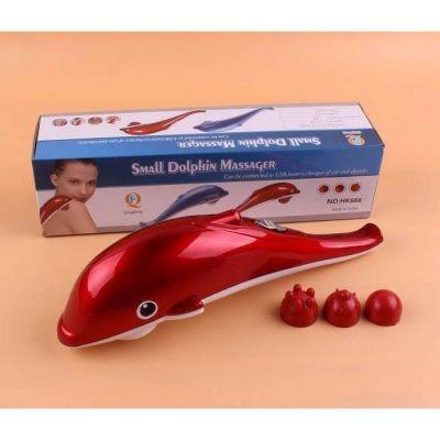 Máy massage cầm tay hình con cá heo mini xài bằng pin