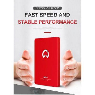 Ổ cứng SSD 120Gb EEKOO V100 Sata III 2.5 Inch , Công nghệ 3D MLC NAND - Hàng Chính Hãng
