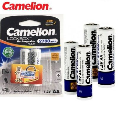 Pin sạc Camelion AA 2700mah