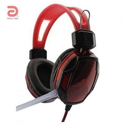 Tai nghe headphone Qinlian A6 gaming (Đen đỏ) Máy Tính Laptop