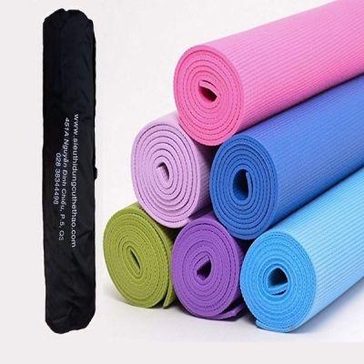 THẢM TẬP YOGA PVC TRƠN  - TẶNG TÚI ĐỰNG THẢM